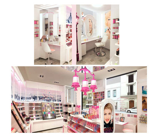 Boutique passage du Havre Bourjois Paris