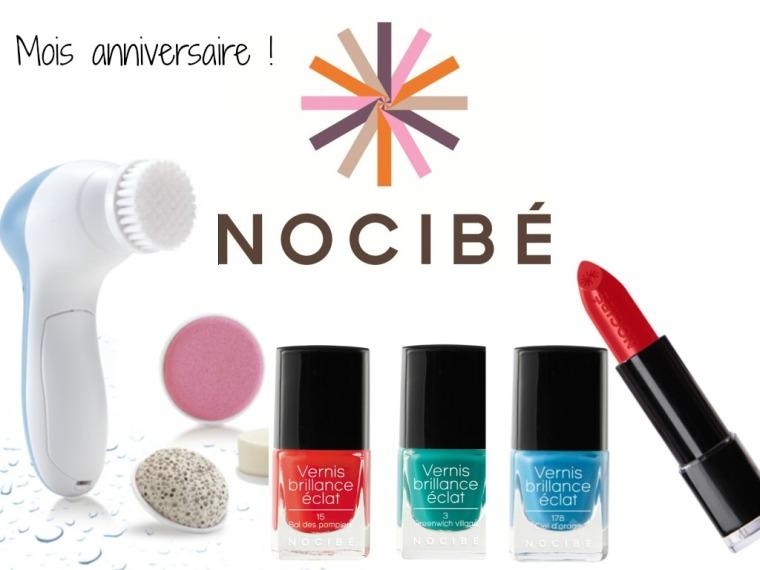 Concours Nocibe _ mois anniversaire