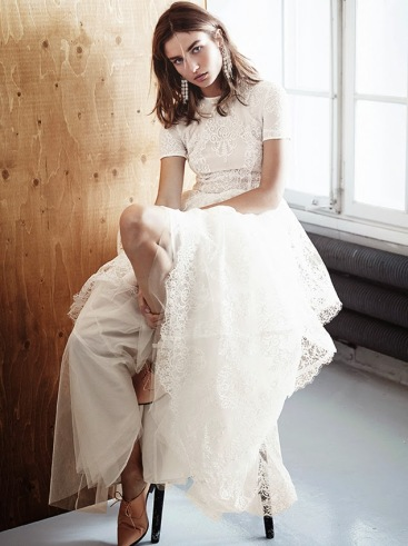 Robe de mariée H&M Conscious Collection