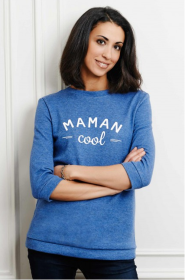 Sweat-Shirt Maman Cool, émoi émoi