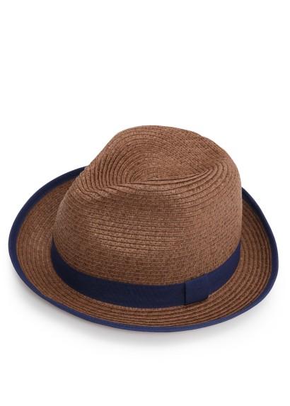 Chapeau de paille Fedora, H.E. Mango