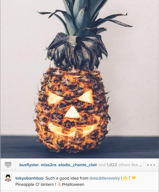 halloween Pinapple