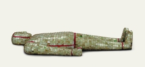 Costume funéraire - Exposition Splendeurs des Han - Musée Guimet