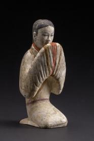 Figurine féminine - Exposition Splendeurs des Han - Musée Guimet