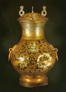 Vase de type hu - Exposition Splendeurs des Han - Musée Guimet