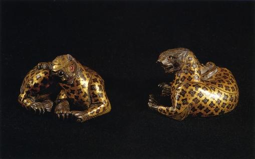 Poids de natte - Exposition Splendeurs des Han - Musée Guimet
