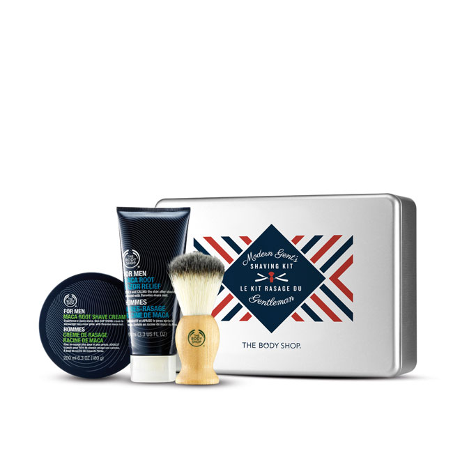 coffret essentiels du rasage the body shop